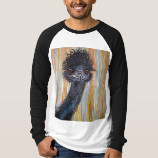 Cute Emu long sleeved 2 colour T-shirt
