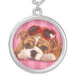 Cute English Bulldog Puppy Custom Jewelry
