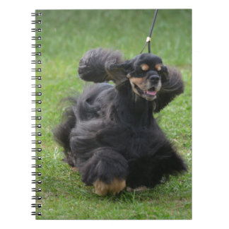 Cute English Cocker Spaniel Spiral Note Book