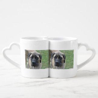 Cute English Mastiff Couple Mugs