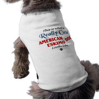 Cute Eskimo Dog Dog T Shirt