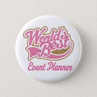 Cute Event Planner 6 Cm Round Badge
