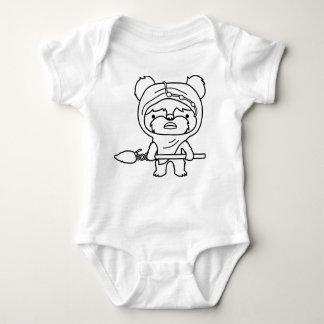 Cute Ewok Sketch baby grow Tee Shirts