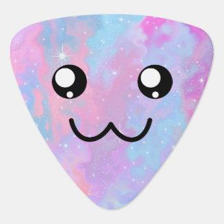 Cute Face Kawaii Pastel Magical Colorfull Plectrum