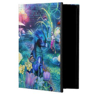 Cute fairy and creature iPad case