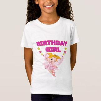 Cute fairy birthday t-shirt for girls