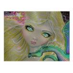 Cute Fairy Dragon Postcard