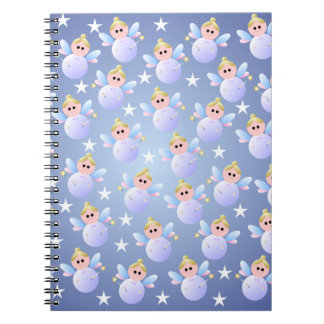 Cute Fairy Godmother Spiral Notebook