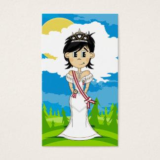 Cute Fairy Princess Bookmark Business Card