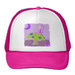 Cute Fairy Princess on Mushroom w/ Snail - Purple Hats