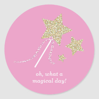 Cute Fairy Princess Party Favor Stickers