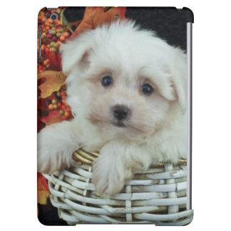 Cute Fall Puppy Case For iPad Air