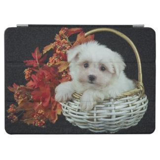Cute Fall Puppy iPad Air Cover