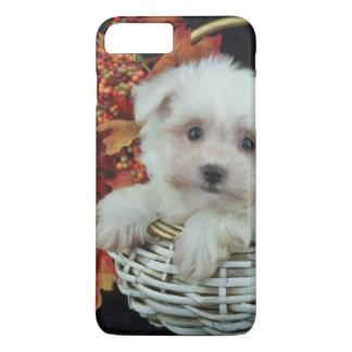 Cute Fall Puppy iPhone 8 Plus/7 Plus Case