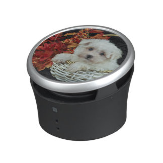Cute Fall Puppy Speaker