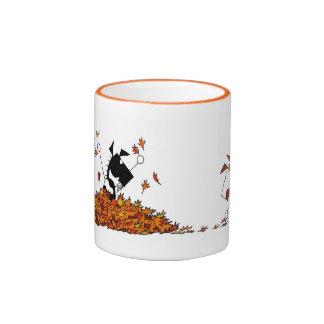 Cute Fall Season Horse Mug