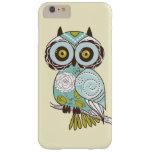 Cute Fancy Retro Groovy Owl Custom