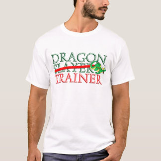 Cute Fantasy Dragon Slayer Trainer T-Shirt
