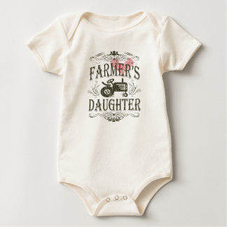Cute Farmer's Daughter Baby Bodysuit
