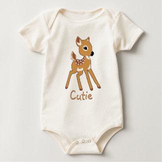 Cute Fawn Baby Shirt