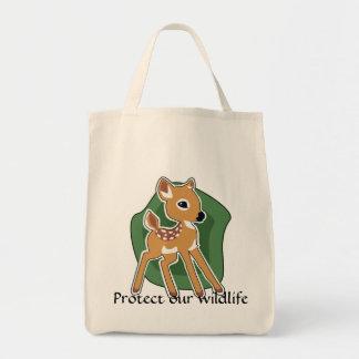 Cute Fawn Tote Bag
