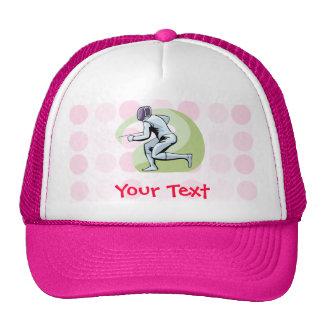 Cute Fencing Trucker Hat