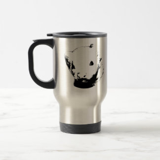 Cute Ferret Picture Stainless Steel Travel Mug