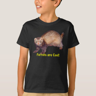 Cute Ferret's are Cool Animal-lover's T-Shirt