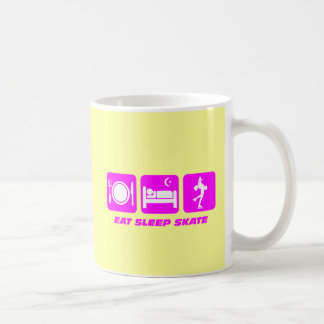 Cute figure skating coffee mug