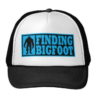 Cute FINDING BIGFOOT Logo Hat - *BOBO* Edition