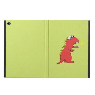 Cute Fire Breath Cartoon T-Rex Dinosaur Powis iPad Air 2 Case