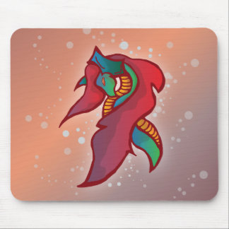 Cute Fire Dragon - Mouse Pad