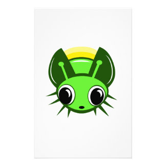 Cute firefly personalized stationery