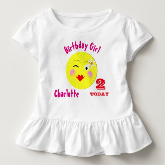 Cute First Birthday Special Personalised Toddler T-Shirt