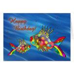 Cute Fish Birthday Card