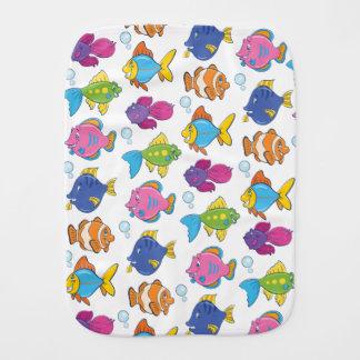 Cute Fish Burp Cloth