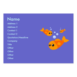 Cute Fish Business Cards