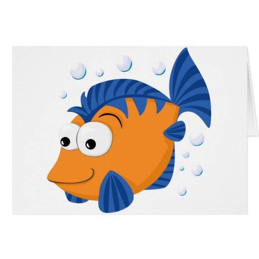Cute fish cards