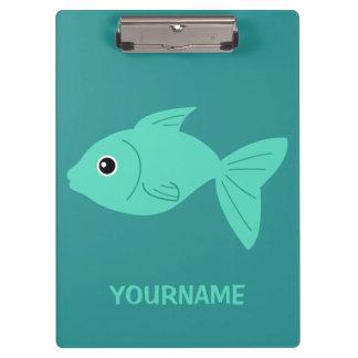 Cute Fish custom clipboard