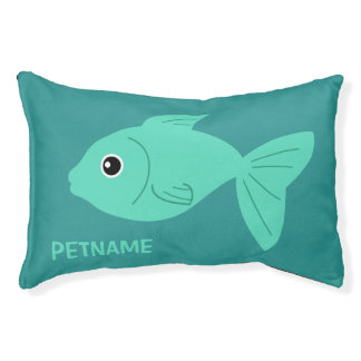 Cute Fish custom dog beds