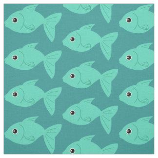 Cute Fish custom fabric