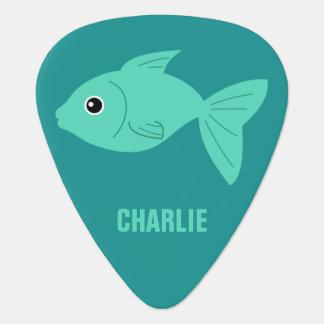 Cute Fish custom guitar picks