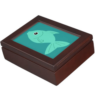 Cute Fish custom keepsake box