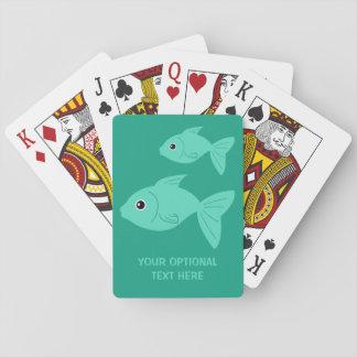 Cute Fish custom playing cards
