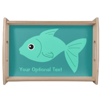 Cute Fish custom serving trays
