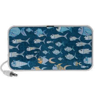 Cute Fish doodle speaker