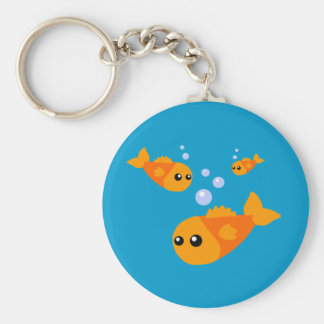 Cute Fish Key Ring