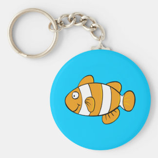 Cute Fish Keychain