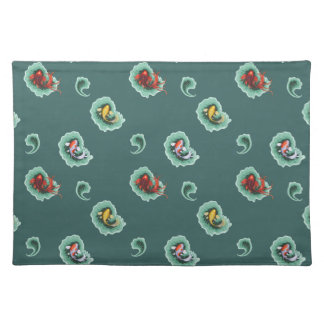 Cute Fish Motif Placemat