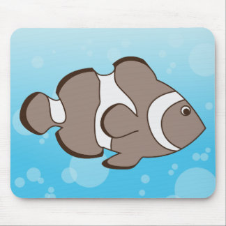 Cute Fish Mouse Pad